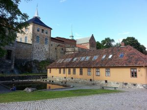 30 Temmuz 2016 - Akershus Kalesi (Akershus Fortress), Oslo, Norvec -16-