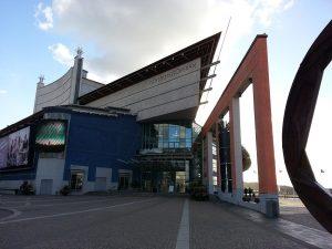 30 Temmuz 2016 - Göteborg Opera Binasi (Göteborgsoperan - The Göteborg Opera), Goteborg, Isvec