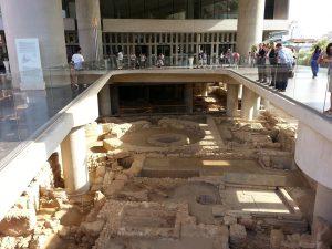 6 Temmuz 2016 - Acropolis Muzesi, Atina, Yunanistan -01-