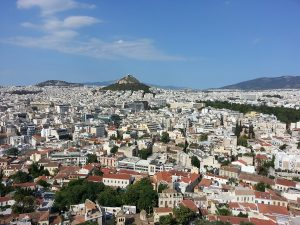 6 Temmuz 2016 - Acropolisden, Atina, Yunanistan -02