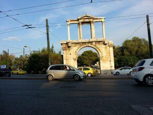 6 Temmuz 2016 - Hadrian Gecidi, Atina, Yunanistan