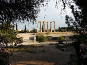6 Temmuz 2016 - Olympian Zeus Tapınagi, Atina, Yunanistan