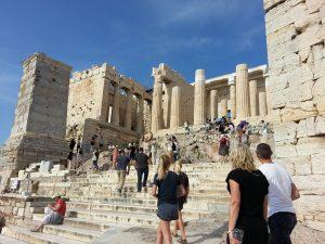 6 Temmuz 2016 - Propylaion, Acropolis, Atina, Yunanistan