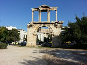 7 Temmuz 2016 - Hadrian Gecidi, Atina, Yunanistan