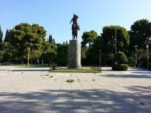 7 Temmuz 2016 - National Garden, Atina, Yunanistan -01-