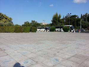 7 Temmuz 2016 - Panathinaiko Stadyumundan Acropolis, Atina, Yunanistan