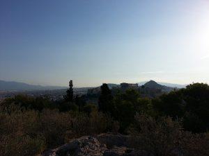 7 Temmuz 2016 - Philopappos Anitindan Acropolis, Atina, Yunanistan