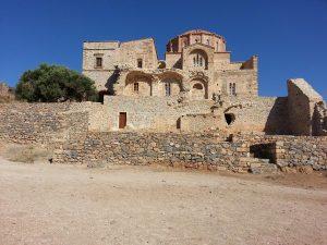 9 Temmuz 2016 - Church of Hagia Sophia, Monemvasia, Yunanistan -03-