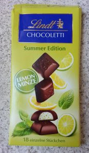 Lindt - Summer Edition - Lime & Mint (Lime ve Naneli)