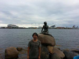 Mehmet Ali Cetinkaya - 27 Temmuz 2016 - Little Mermaid, Kopenhag, Danimarka