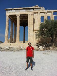 Mehmet Ali Cetinkaya - 6 Temmuz 2016 - Erechtheion, Acrapolis, Atina, Yunanistan