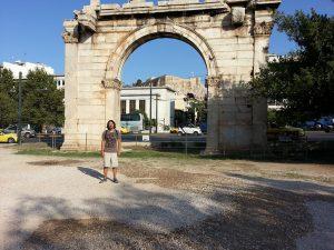 Mehmet Ali Cetinkaya - 7 Temmuz 2016 - Hadrian Gecidi, Atina, Yunanistan
