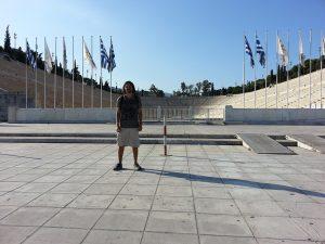 Mehmet Ali Cetinkaya - 7 Temmuz 2016 - Panathinaiko Stadyumu, Atina, Yunanistan