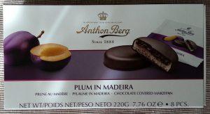 Anthon Berg - Plum in Madeira (Plum in Madeira'li, Badem Ezmeli, Kaplama Cikolata)