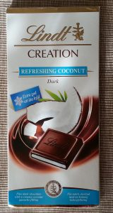Lindt – Creation – Refreshing Coconut (Ferahlatici Hindistan Cevizli Koyu Cikolata)