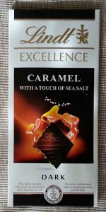 Lindt - Excellence – Caramel With A Touch of Sea Salt (Deniz Tuzlu, Karamelli Koyu Cikolata)