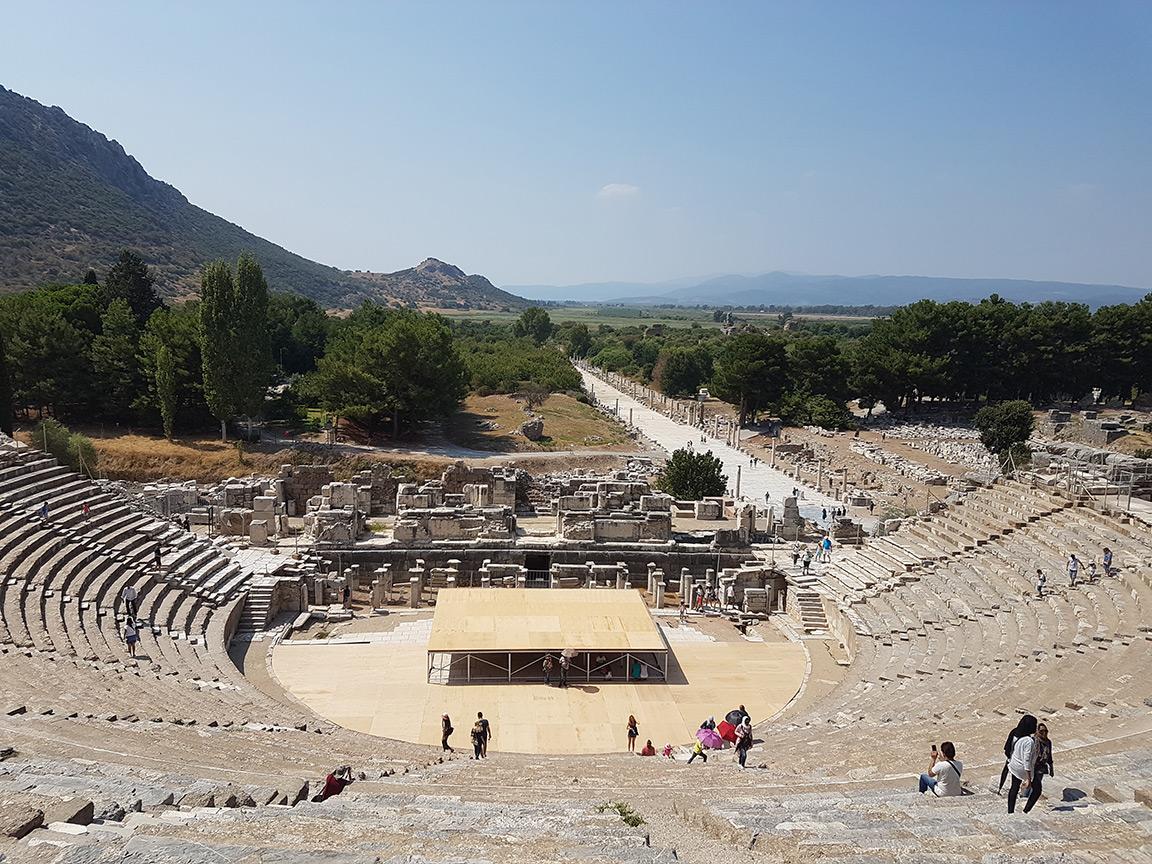 30 Agustos 2017 Antik Tiyatro Efes Antik Kenti Selcuk Izmir 02